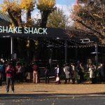 シェイクシャック外苑いちょう並木の混雑や待ち時間は?メニューも